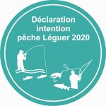 Déclaration intention de pêche saumon Léguer 2020